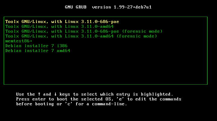 Toolx GNU/Linux 1.0.0