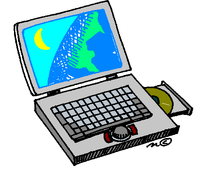 Laptop hlađen vetrom jona