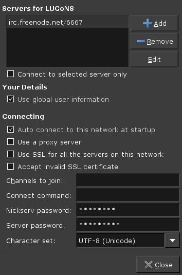 XChat server