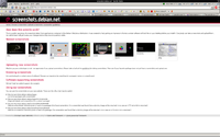 Startovao screenshots.debian.net